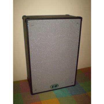 """EB 2 x 12"""" 500/600 watt Sealed Bass cabinet with tweeter only 20kgs"""