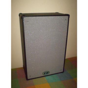 "EB 2 x 12"" 600 watt Sealed Bass cabinet with tweeter 15.7kgs"