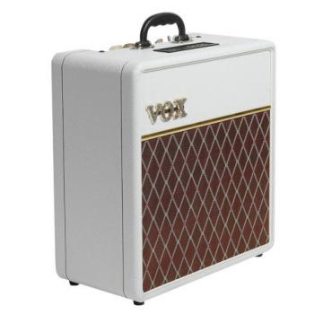 Brand New Vox AC4C1-12 Limited Edition 4W 1x12 Tube Combo Amp White Bronco