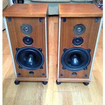 Paire  D'enceintes B&W Bowers & Wilkins DM4 Vintage speakers 1973 Made in uk