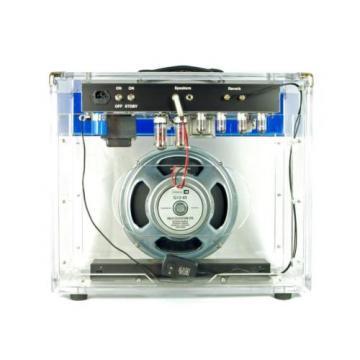 New! Rock N Roll Amps Reverb D-Lux 20 Watt Clear Guitar Tube Combo Amplifier
