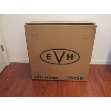 New! EVH® 5150 III 1x12 50 Watt All Tube Combo Amplifier Black