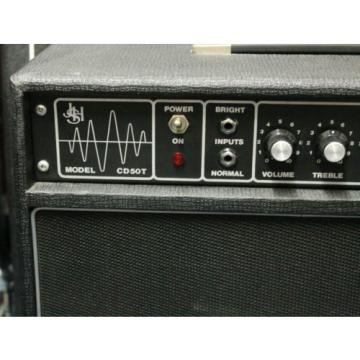JHS CD50T Guitar Amplifier Combo, Made in UK in 1978, with tremolo circuitry