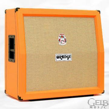 Orange 4 x 12 Angled Front Speaker Cabinet, Orange Vinyl - PPC412A
