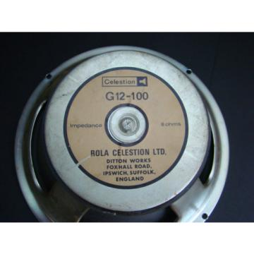 Rola Celestion G12-100  , very rar,  vintage Legende,