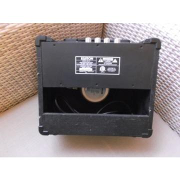 """Kustom KBA10 10-Watt Bass Amp with 8"""" Speaker & Microphone & Adapter"""