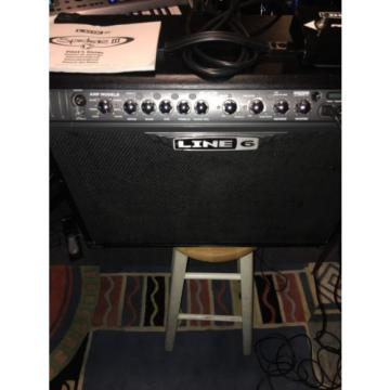 Line 6 Spider III 2x10 120 watt combo guitar amp w/ foot switch