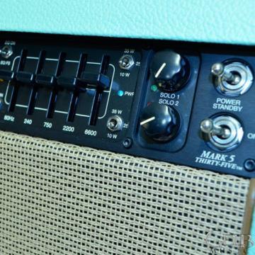 Mesa Boogie Custom Mark Five 35 Combo Amplifier in Surf Bronco - 1.M35.21.03.03