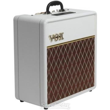 "Vox AC4C1 Limited White Bronco - 4W 1x10"" Guitar C"