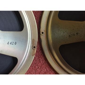 "Amazing vintage 50s 60s BIG Alnico magnet 10"" CELESTION speakers (259295)"