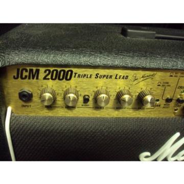 Marshall JCM 2000 TSL-122 Guitar Tube Combo Amp UK 2000