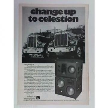 retro magazine advert 1980 CELESTION P1 speakers