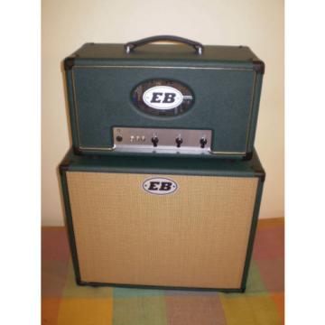 "EB 25 watt all valve hand made guitar amp and 12"" cab"