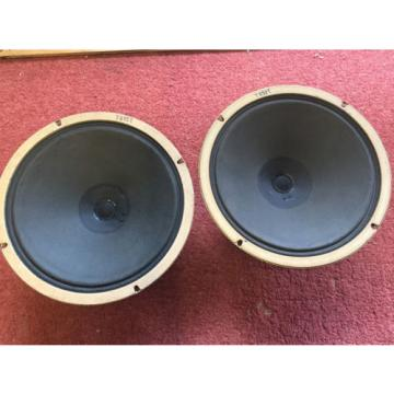 "Amazing vintage 50s 60s BIG Alnico magnet 10"" CELESTION speakers (259296)"
