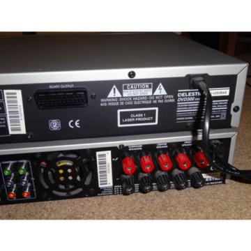 Celestion AVR300 / DVD300 AV Amplifier and DVD Player