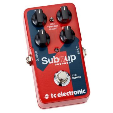 TC Electronic Sub 'N' Up Octaver pedal - free US shipping!