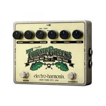 Electro-Harmonix Turnip Greens Overdrive/Reverb