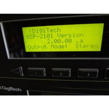 Digitech GSP-2101 Studio Tube Preamp/Multi Effects Guitar Processor