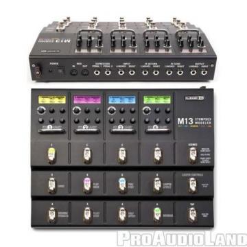 Line 6 POD M13 Stomp box Processor w/ AKG K240 MKII Headphones NEW