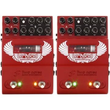 Two Notes Le Lead 2-channel Hi-Gain Tube Preamp Pedal (2-pack) Value Bundle