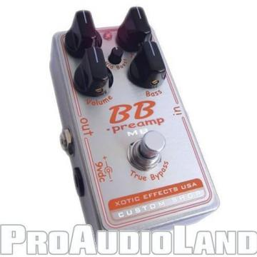 Xotic Custom Shop BB Preamp with Mid Boost Effects Pedal Free Shipping NEW