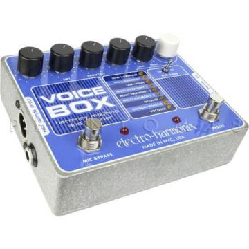 Electro-Harmonix Voice Box Vocal Vocoding Synth Processor and Harmonizer - NEW