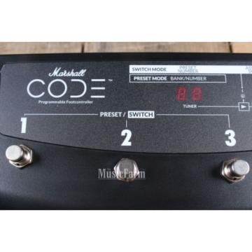Marshall CODE Stompware 4 Way Footswitch Controller for Code Guitar Amplifiers