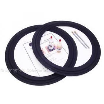 """2 Celestion T5660A 18"""" Speaker Cloth Repair Kit - B52 18220X- M-Roll - 2L18-P300"""
