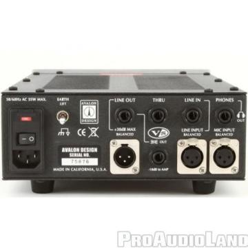 AVALON Design V5 Class-A DI RE-Mic  Preamp, Black