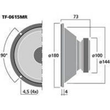 Celestion TF-0615MR PA Mitteltöner Monacor 100 Watt
