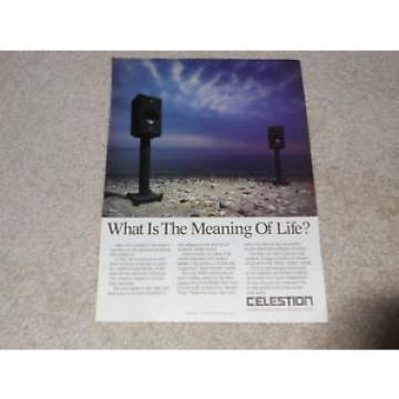 Celestion 700 Speaker Ad, 1988, 1 pg, Article