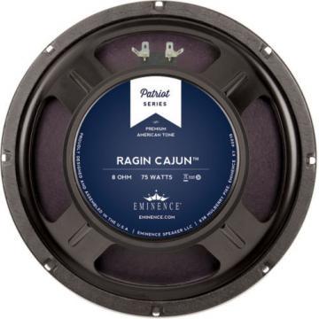 """Eminence Patriot Ragin Cajun 10"""" Guitar Speaker 8 Ohm"""