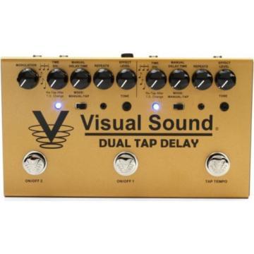 Truetone Visual Sound V3 Dual Tap Delay Pedal BRAND NEW