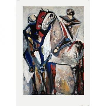 Marino Marini-Two Riders-1953 Poster