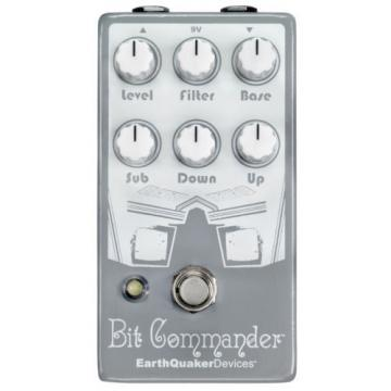 EARTHQUAKER DEVICES BIT COMMANDER OCTAVE SYNTH V2 Guitar Synthesizer Pedal