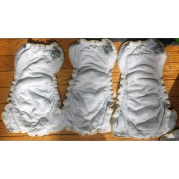 Mother Ease Sandy's Bamboo Fitted Cloth Diapers with Two Small Mother Ease Cover