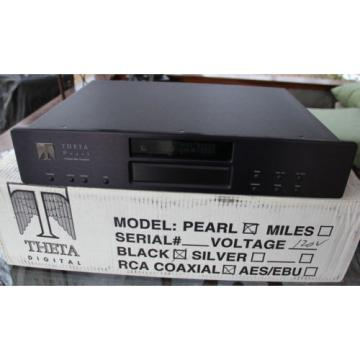 Theta Digital Pearl CD Transport  With Box & Remote