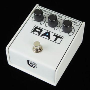 NEW Limited Edition White ProCo Rat2 Overdrive / distortion Pro Co Rat 2 pedal!