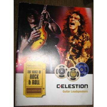 Celestion Guitar Loudspeakers catalog