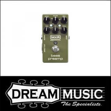 Dunlop MXR - M81 Bass Preamp Bass Guitar Effects Pedal RRP$339