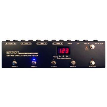 Moen GEC-438 Guitar Effect Loop System | FX Pedal Switcher & Signal Router