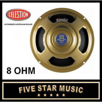 """CELESTION GOLD ALNICO 12"""" GUITAR SPEAKER 8 OHM 50 WATT G12 NEW G-12"""