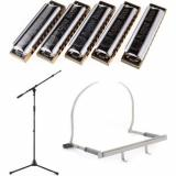 Hohner MBC + On-Stage Stands MS9701TB+ + Hohner 154 - Value Bundle