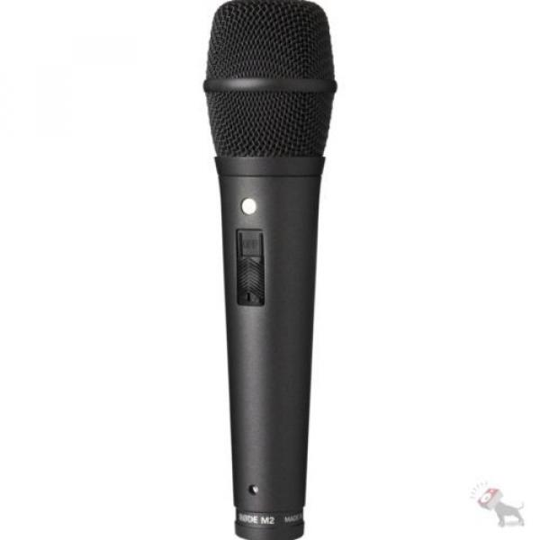 Rode M2 Live Condenser Super Cardioid Vocal Microphone w/ Stand and Mic Cable #3 image