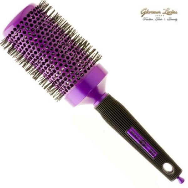 Radial Brosse De Cheveux Violet,Head Jog,Céramique Ionique,Professionnel Usage #5 image