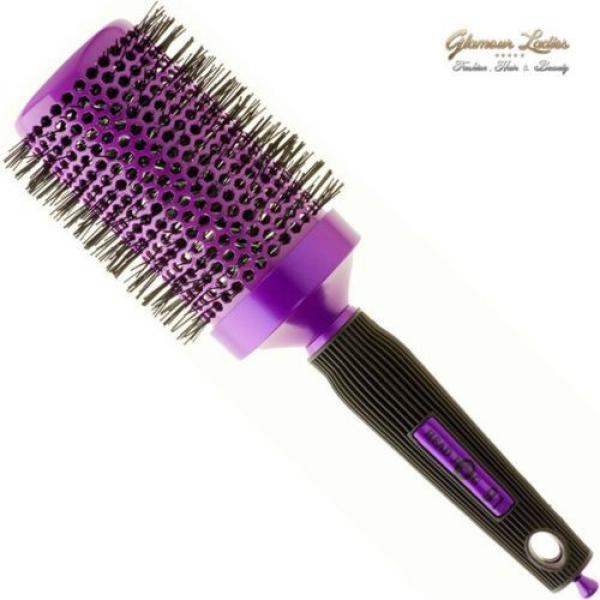 Radial Brosse De Cheveux Violet,Head Jog,Céramique Ionique,Professionnel Usage #6 image