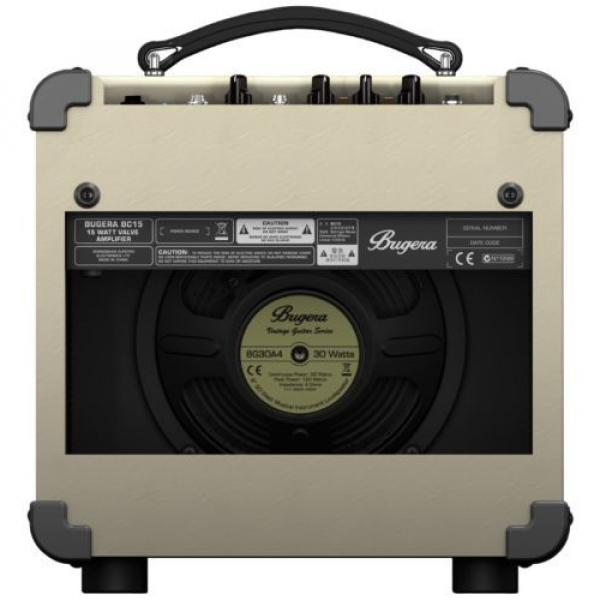 Behringer Bugera 15W BC15 Vintage Guitar Amplifier with 12AX7 Valve - #2 image