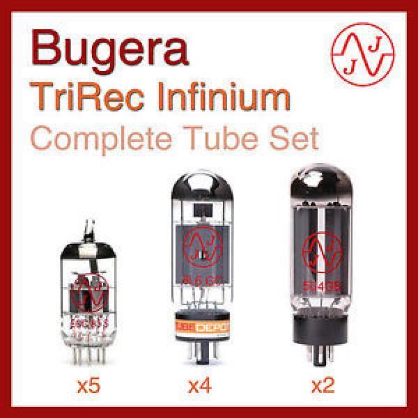 Bugera TriRec Infinium Complete Tube Set with JJ Electronics #1 image