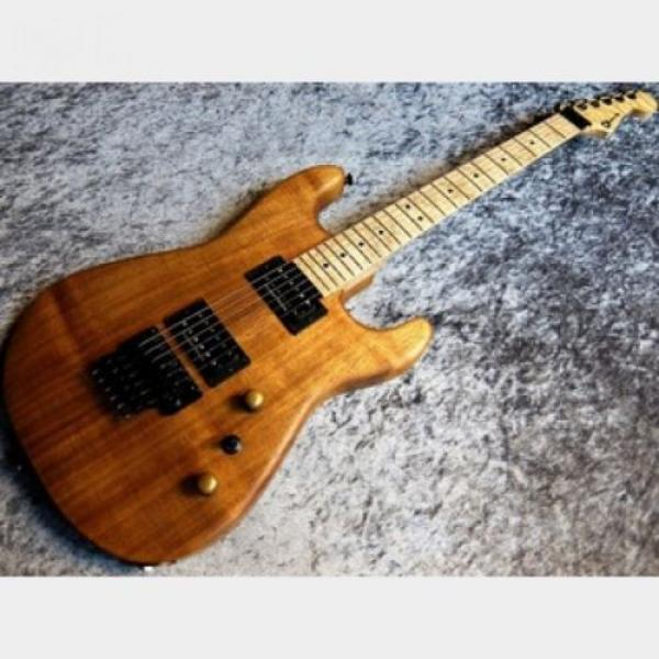 Charvel USA Custom Shop San Dimas 2H Koa  FREESHIPPING/123 #1 image