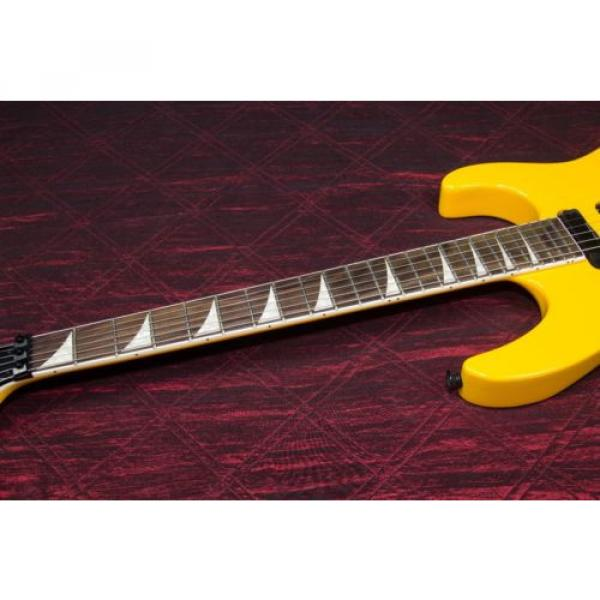 Jackson SLX Soloist X Series Electric Guitar Taxi Cab Yellow 031503 #4 image